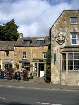The Old New Inn, Bourton-on-the-Water, Gloucestershire.  Photo by David Stowell