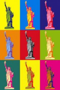 Statue of Liberty Pop Art!!
