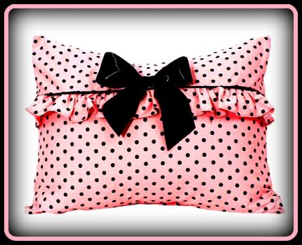 The Perfect Pinknblack Pillow
