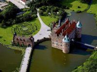 Egeskov Castle, in Funen, Denmark