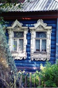 Ornate shed windows