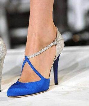 224ce546ba Solve zapatos-azules-para-novia-bello jigsaw puzzle online with 72 ...