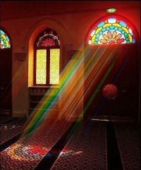 Rays of Rainbow Light