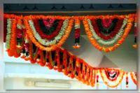 Garland at Sri Srinivasa Perumal Temple