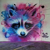By graffiti artist Sagie