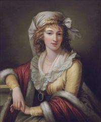 Robert Fagan Anna Maria Aloisna Rosa Ferri, the artist's wife circa 1790-1800