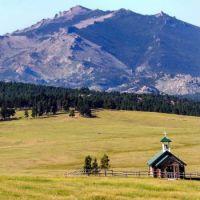 Little church in Bighorn Mountains