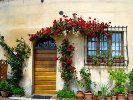 Another entrance, Montepulciano, Tuscany.