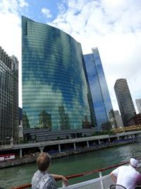 Chicago boat tour of skyscrapers, 2011