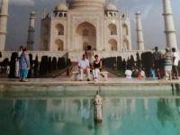 The Taj Mahal in Agra/India