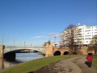 Part of Trent Bridge