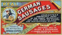 Real German Sausages {Vintage Ads}