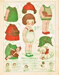 Paper Doll  ~  Dolly Dingle