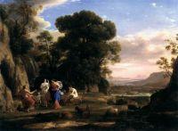 Claude Lorrain - The Judgement of Paris (1646)