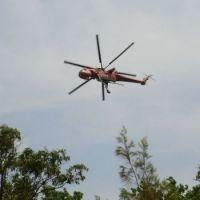Dousing the 2013 bushfire near our hom,e north of Sydney