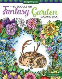 Fantasy Garden Coloring Book Cover