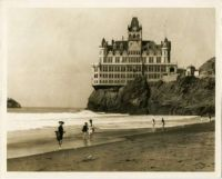 San Francisco's iconic Cliff House shortly before it was destroyed by fire in 1907