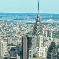 Chrysler Building as seen from the Empire State Building