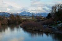 Mountian/Lake landscape