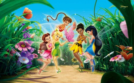 Tink and Friends with Butterfly