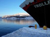 Trollfjord, in Hammerfest.