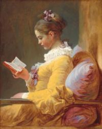 Jean Honoré Fragonard (French, 1732–1806), A Young Girl Reading (ca 1769)