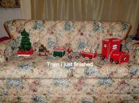 Christmas  train is coming