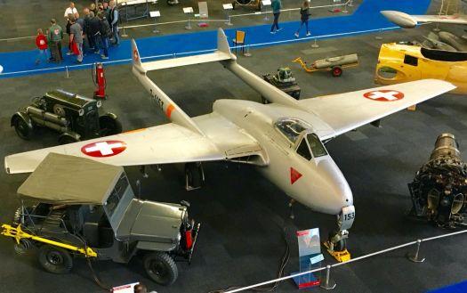 Swiss de Havilland Vampire