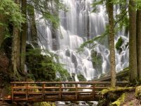 Ramona Falls Mount Hood, Oregon