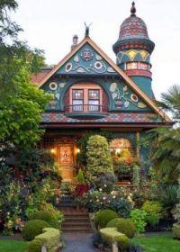 Victorian cottage and garden