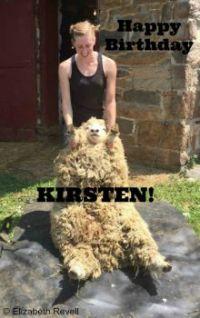 Happy Birthday Kirsten