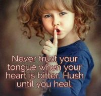 hush until you heal