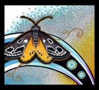 golden sun moth as totem