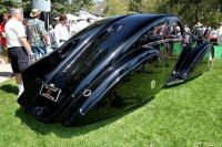 1925 Rolls Royce Phantom I Aerodynamic Coupe, rearview