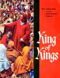 KING OF KINGS -  JEFFREY HUNTER 1961 SOUVENIR BROCHURE