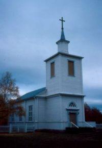 Muodoslompolo church, Sweden.