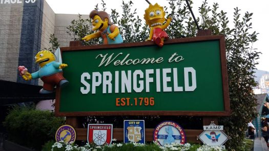 Universal Studios The Simpsons