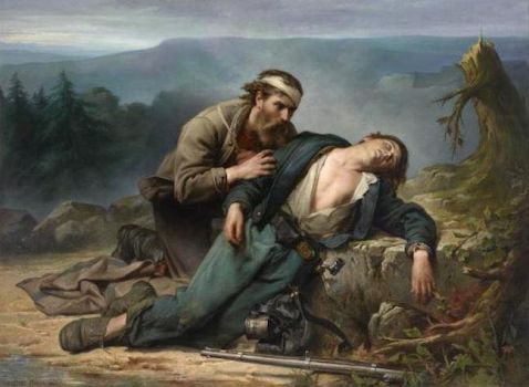 Constant Mayer  (American, born in France, 1832–1911), Recognition: North and South (1865)