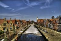 sloten, smallest city of Friesland, The Netherlands