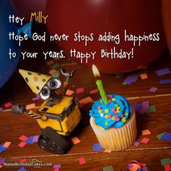 Happy Birthday Milly