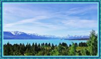 Lake Pukaki and Mt Cook in the Southern Alps.