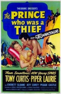 THE PRINCE WHO WAS A THIEF - 1952  TONY CURTIS, PIPER LAURIE