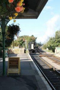 052  CORFE TRAIN STATION