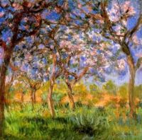 Claude Monet - Springtime in Giverny,1899 (Apr17P34)
