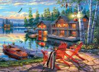 Twilight At Loon Lake