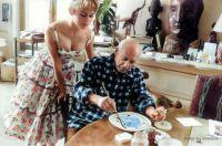 Brigitte Bardot visits Pablo Picasso