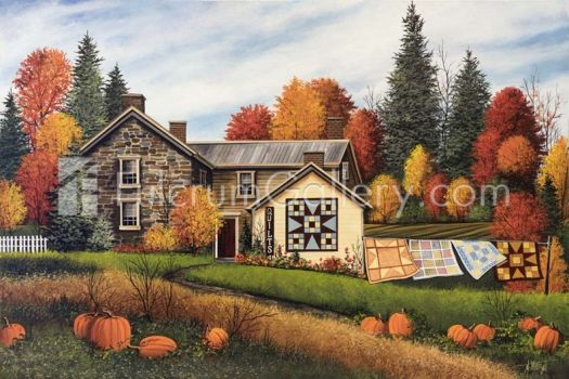 Debbi Wetzel-Pumpkins Fall Quilts