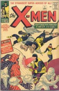 Theme #3: Comic Book Covers: Uncanny X-Men #1 (September, 1963)