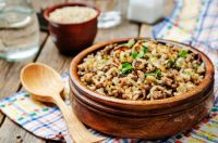 Greek Lentils and Rice