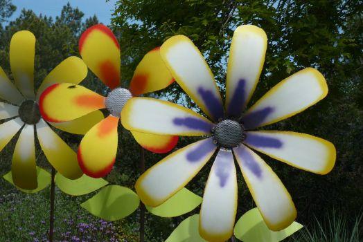 Flower Sculpture San Diego Botanic Garden